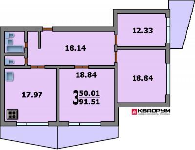Планировки квартир / улучшенные дома / планировка домов сери.